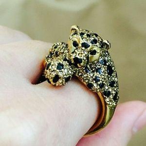 Kate spade Cheetah ring 6